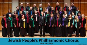 The Jewish People's Philharmonic Chorus: THE YEAR IN YIDDISH SONG