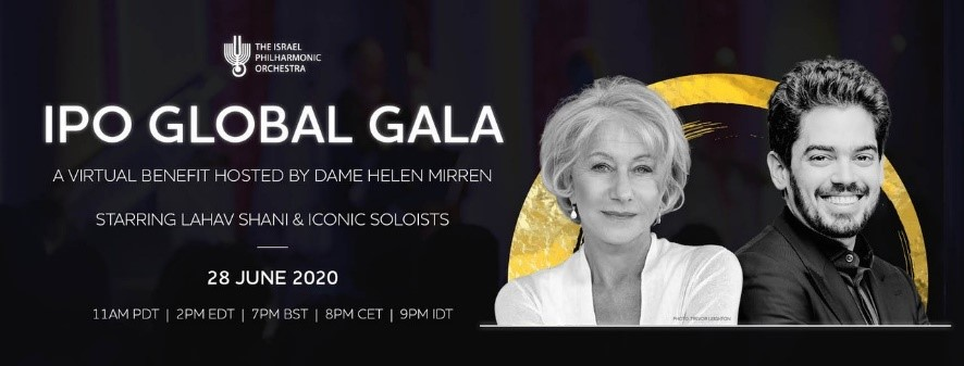 Israel Philharmonic Orchestra announces virtual 'Global Gala ...