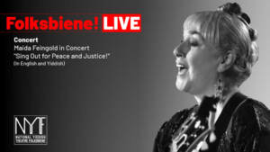 Maida Feingold: Sing Out For Peace and Justice living room concert