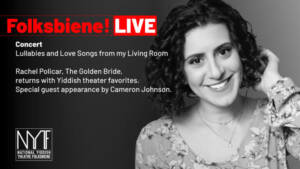 Concert: Rachel Policarand special guest Cameron Johnson, singing lullabies and love songs.